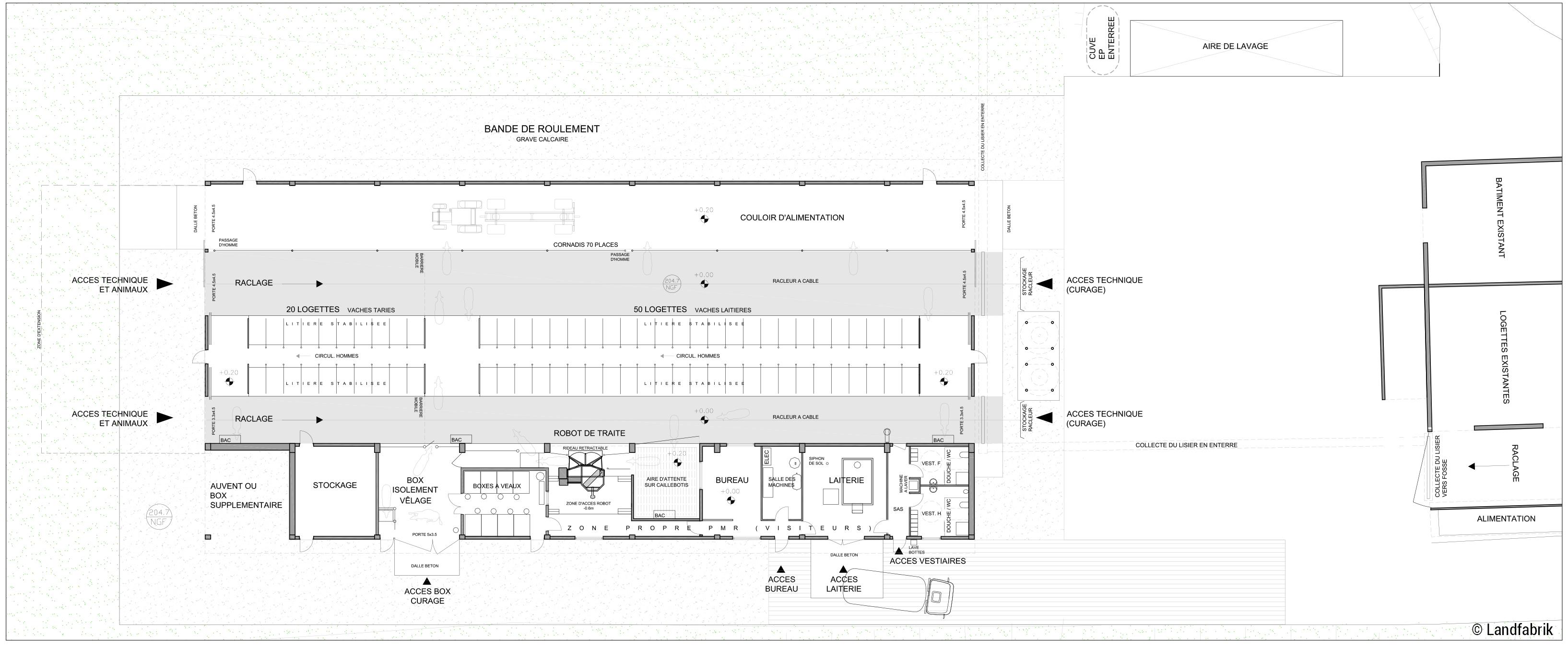 Plan Venoy © Landfabrik